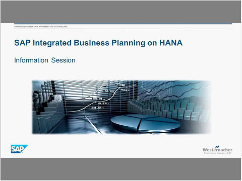 Click ´n Go Webinar SAP Integrated Business Planning (SAP IBP) Info Session I 20.09.2016