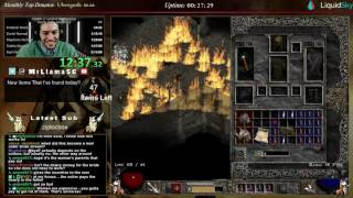 Diablo 2 - Hell HC Sorc Speedrun (Attempt #1)