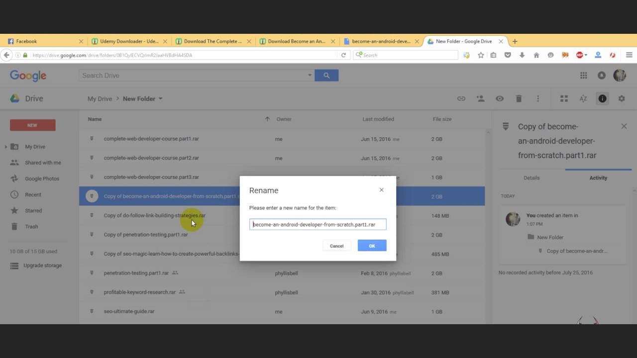 Google Drive Quota Exceeded Error Fix Latest Youtube