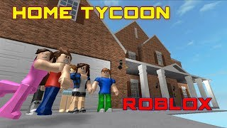 I Drew a Great Home Plan / Home Tycoon Roblox / English