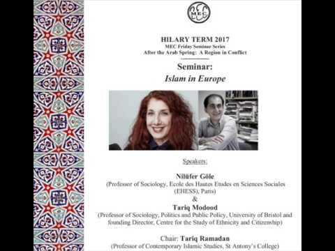 Middle East Centre : Islam in Europe [17/02/2017] | Tariq Ramadan