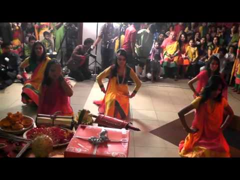 Gaye Holud Dance of Sumaiya Part-1  by Capitalfilmsbd