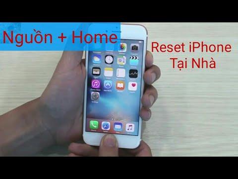 Cách Chạy Lại Phần Mềm iPhone Tại Nhà + Reset Cứng - DS Phong
