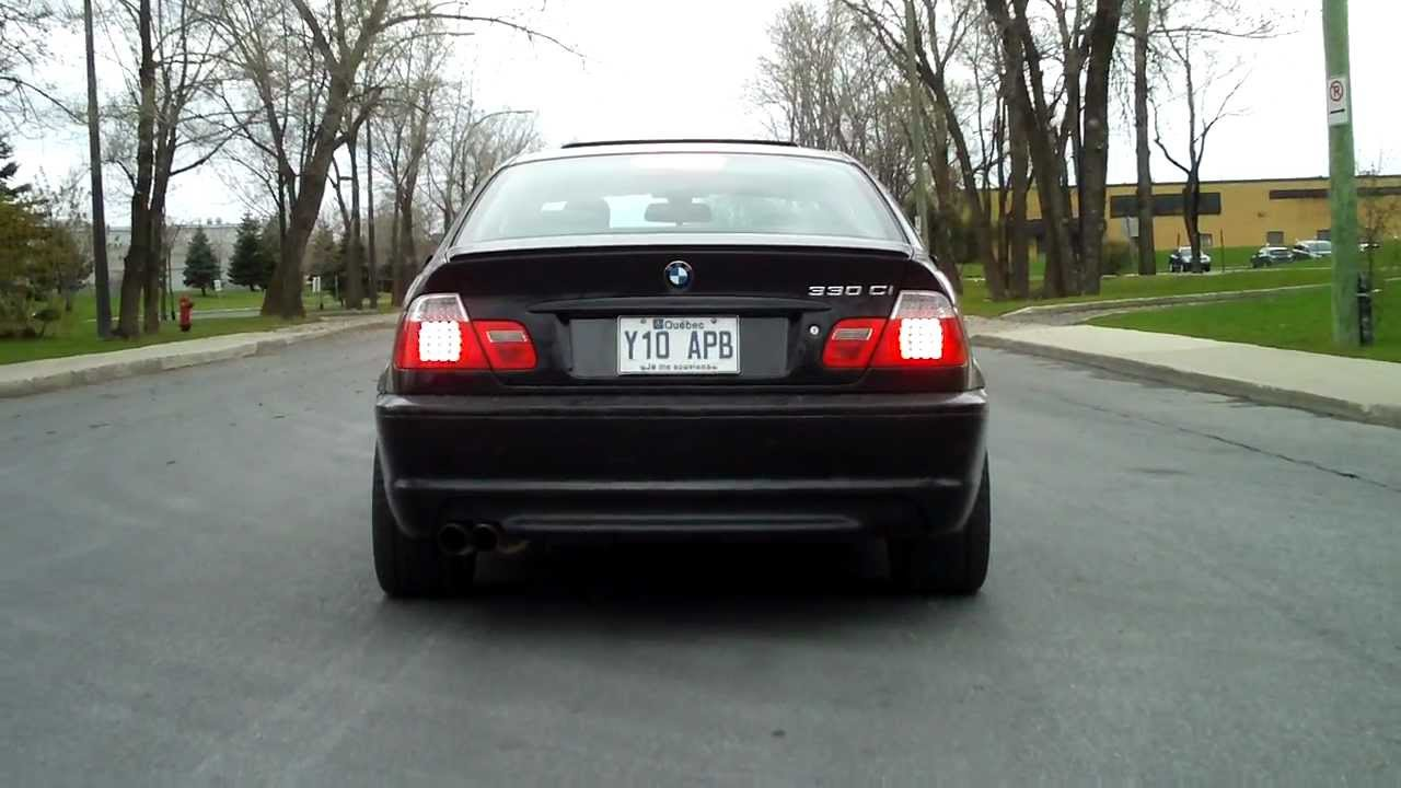 bmw e46 330ci zhp uuc tse3 catback exhaust youtube. Black Bedroom Furniture Sets. Home Design Ideas