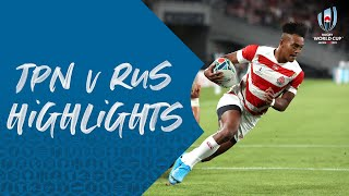 Highlights: Japan 30-10 Russia - RWC 2019 Opener