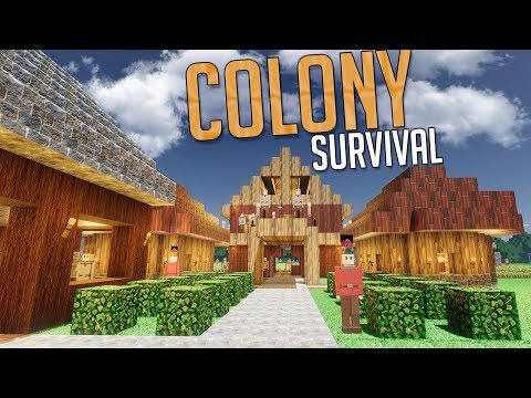 Colony Survival - 300 COLONISTS STRONG! - Wheat Grinding & City Building - Colony Survival Gameplay