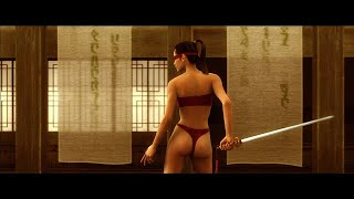 Virtual swordfight - Animatrix animation (HD)