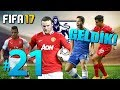 FIFA 17 Yeni Kariyer #21: DEVLERLE ÇARPIŞIYORUZ!