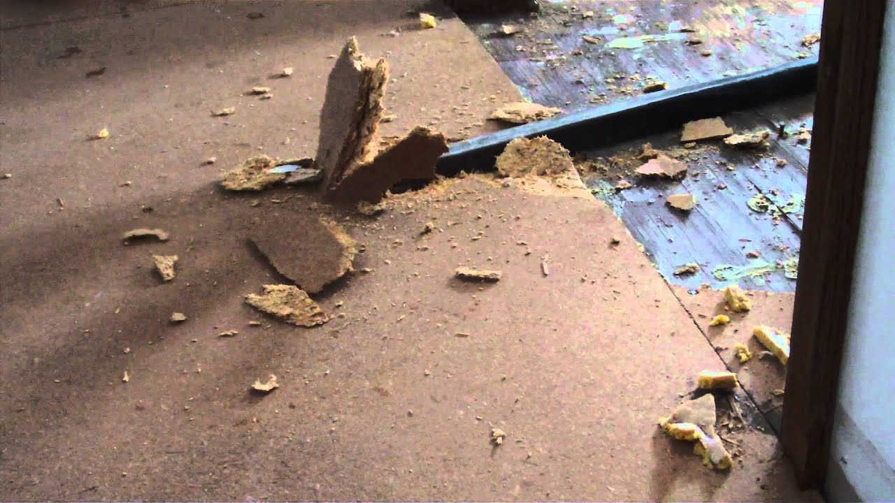How To Tearout Particle Board Before Install of Wood Floor ...