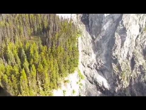 Hunlen Falls fly over