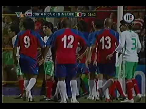 Costa Rica vs Mexico Eliminatorias Sudafrica 2010