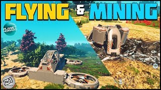 We Are FLYING !! Building a Auto Mining Machine ! Lets Play Planet Nomads Gameplay | Z1 Gaming