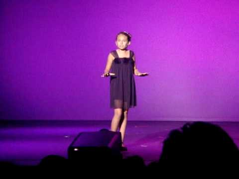 Emily Elizabeth Singing Shy From Once Upon A Mattress At Palm Beach Idols