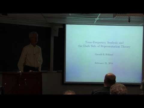 Gerald Folland - February Fourier Talks 2014