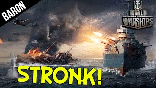 Sampson Stronk!  World of Warships Multikill Slaughter