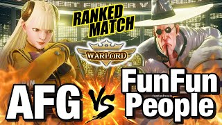 afg_peace30(Karin) vs FunFunPeople(Fang) AFG(かりん) vs はく(ファン) その他の対戦動画(MORE FGC VIDEOS) ...