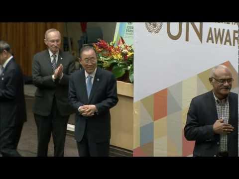 UN Secretary-General Staff Awards 2016 - Full Ceremony