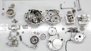 Desarme completo de un motor  YAMAHA YBR 125