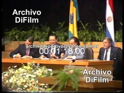 Inicio Mercado Común del Cono Sur - DiFilm (1991)