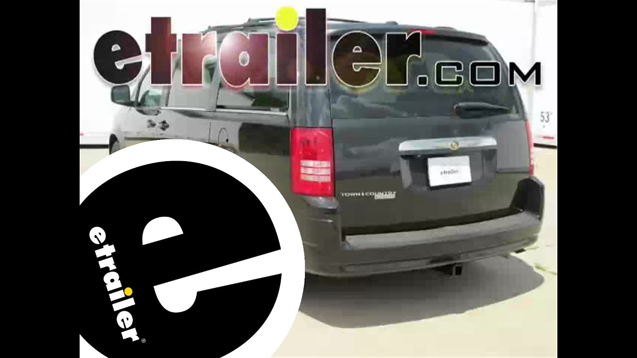Installation Of A Trailer Hitch On 2008 Chrysler Town And Country Motorcycle Wiring Harness Etrailercom
