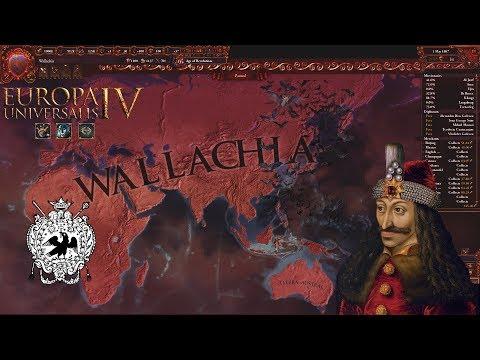 EU4 - Timelapse - Wallachia World Conquest