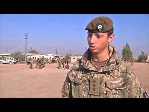Captain Edward Brown speaks about his work training the Afghan National Army