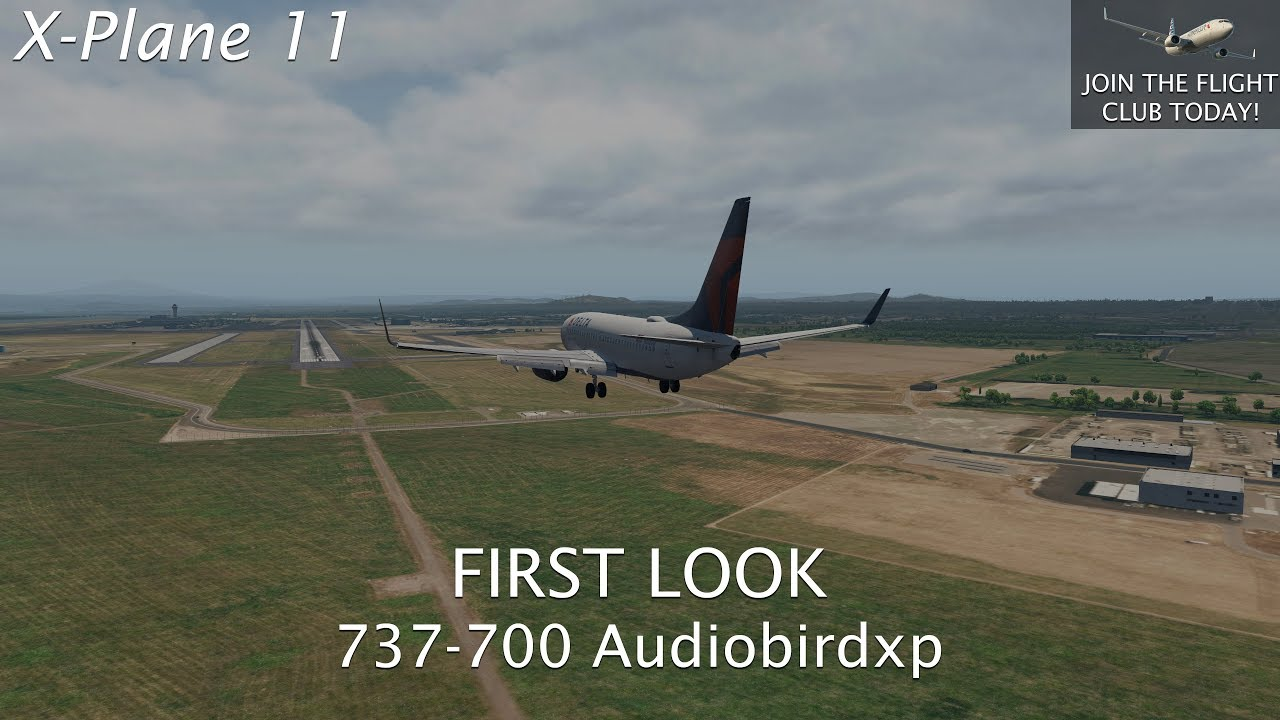 X-Plane 11 | 737-700 First Look