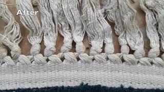Relaxing ASMR Carpet Washing