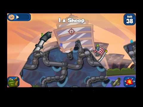 Worms 2: Armageddon - Android Gameplay HD
