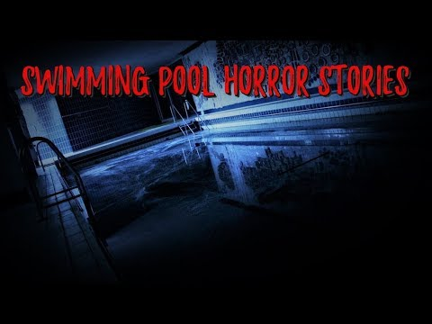 2 Chilling Swimming Pool Horror Stories *NOSLEEP*