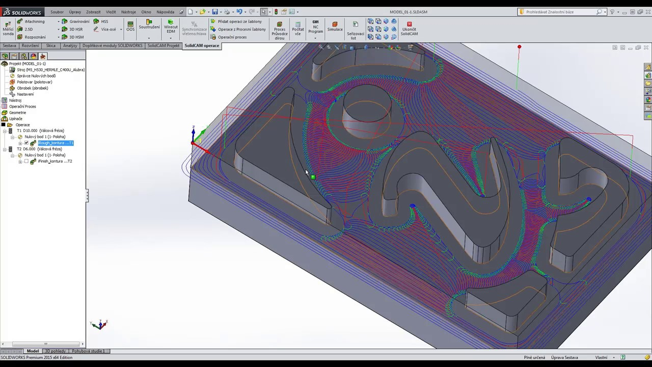 2D a 3D iMachining
