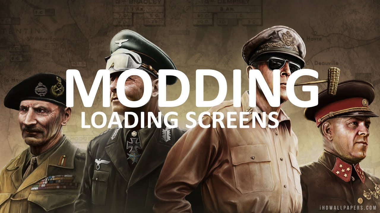 Custom Loading Screens Hearts Of Iron Iv Modding 6 Youtube