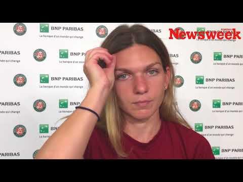 Simona Halep înainte de finala de la Roland Garros: A fost important că nu am cedat