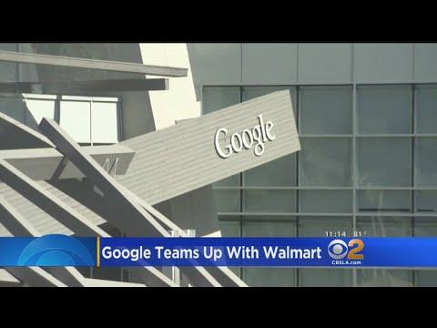 Google, Walmart Team Up To Challenge Amazon