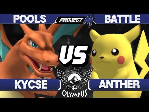 Olympus - Kycse (Charizard) vs Anther (Pikachu) - PM Pools - Project M