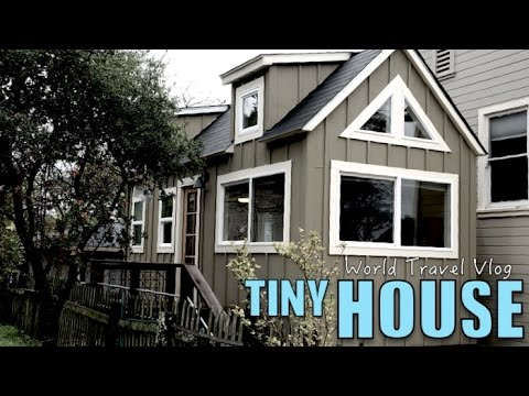 Testing a Tiny house - I could totaly live like this | World Travel Vlog
