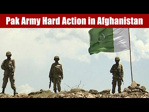 Surgical Strike by Pak Army in Afghanistan on Terrorist Group Jamat ul Ahrar