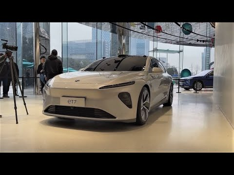 ALL NEW 2021 NIO eT7 EV FirstLook Walkaround