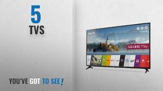 Top 10 Tvs [2018]: LG 43UJ630V 43 inch 4K Ultra HD HDR Smart LED TV (2017 Model)