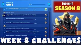 Ruin Secret Skin + ALL Week 8 Challenges Guide - Fortnite Battle Royale Season 8
