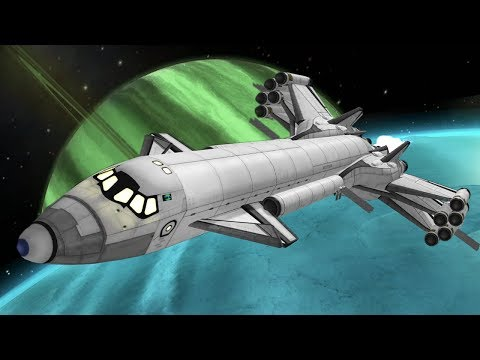 KSP: SSTO to Every Jool Moon - no mining!