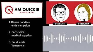 #AMQuickie 4/9  Feds Seize Medical Supplies