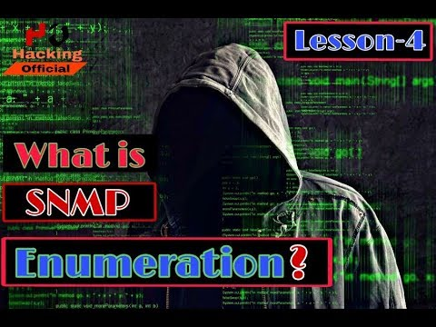 [Ethical Hacking Course] || What is SNMP Enumeration ? || Lesson-4 ||