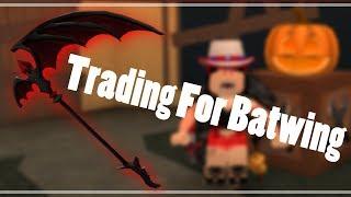 Roblox Murder Mystery 2 Halloween 2018 Getting Batwing