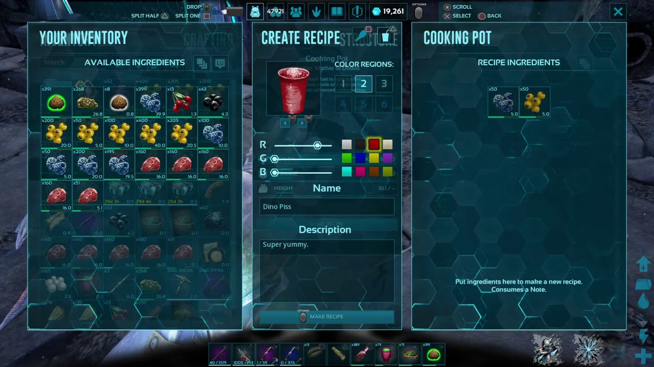 Ark Survival Evolved Custom Recipes Tutorial Youtube