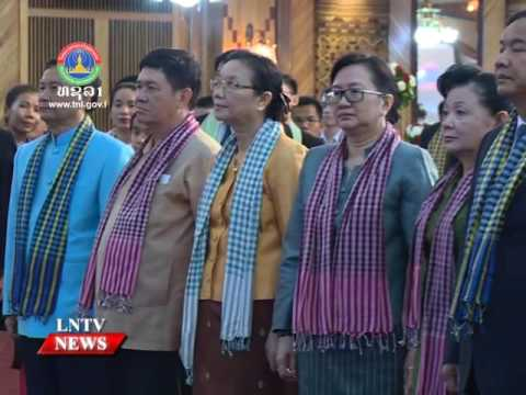Lao NEWS on LNTV: Laos, Cambodia cement ties, deepen cooperation.20/6/2016