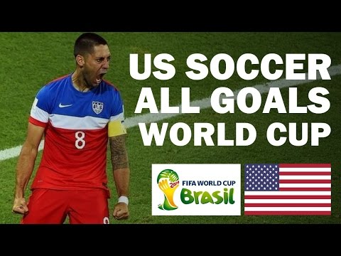 US SOCCER ● ALL GOALS ● WORLD CUP 2014 | HD