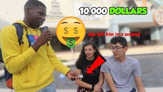 Would You Leave Your Boyfriend/Girlfriend for $10,000? | Public Interview