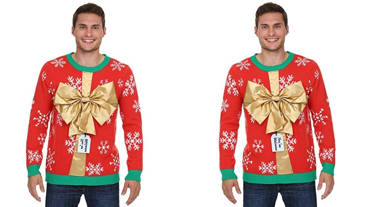2017 Mens Ugly Christmas Sweaters 3 - YouTube