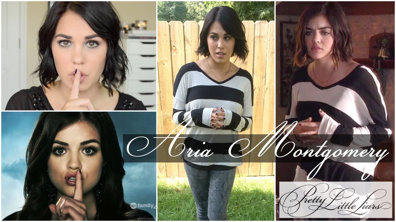 get the look: aria (pretty little liars season 6) w
